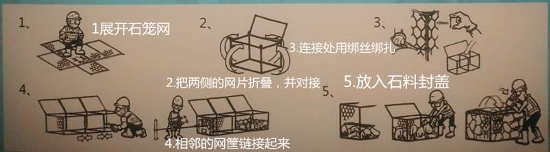 石笼网安装步骤