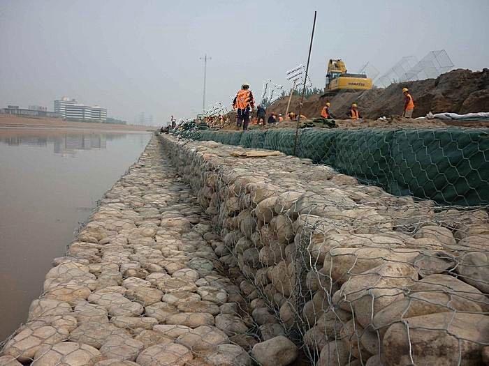 湖岸加固石笼网